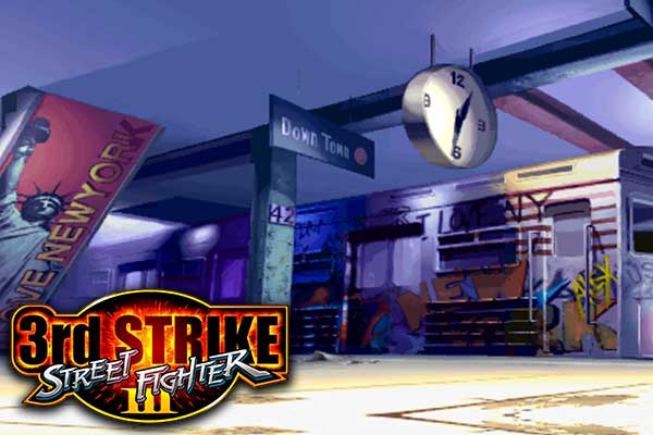 Street Fighter III: Third Strike - Subway Station