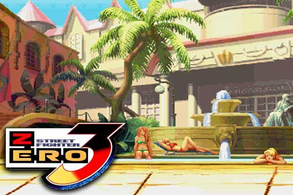 Street Fighter Zero 3 - Hotel Masters
